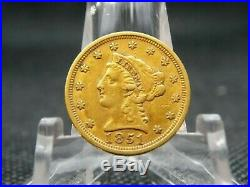 1851 $2.50 Liberty Gold Quarter Eagle #1 East Coast Coin & Collectables, Inc