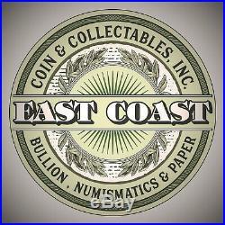 1852 O $1 Gold Liberty Head Dollar #1 East Coast Coin & Collectables, Inc