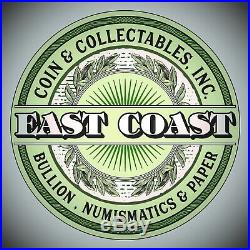 1853 $5 Gold Liberty Half Eagle #1 East Coast Coin & Collectables, Inc