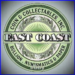1861 $2.5 Gold Liberty Quarter Eagle #1 East Coast Coin & Collectables, Inc