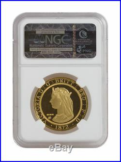 1872 London & the Lion Smithsonian Collection Private Issue 2012 Gem Proof