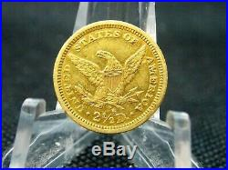 1878 S $2.5 Gold Liberty Head Quarter Eagle #1 East Coast Coin & Collectables