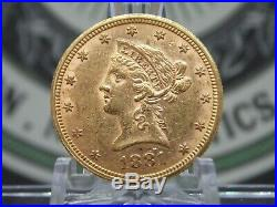 1881 $10 Gold Liberty Eagle East Coast Coin & Collectables, Inc