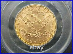 1882 $10 Gold Liberty Eagle PCGS MS60 East Coast Coin & Collectables, Inc