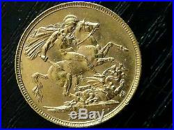1893 S Sydney Jubilee Head Sovereign gold coin Full Sovereign COLLECTABLE