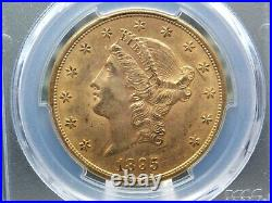 1895 S $20 Gold Liberty Double Eagle PCGS MS61 East Coast Coin & Collectables