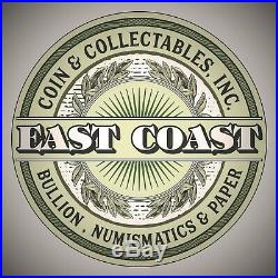 1898 S $20 Gold Liberty PCGS MS62 East Coast Coin & Collectables, Inc