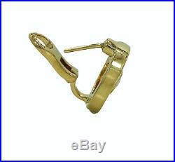 18k Roberto Coin Cento O Collection Pave/cento Diamond Earrings