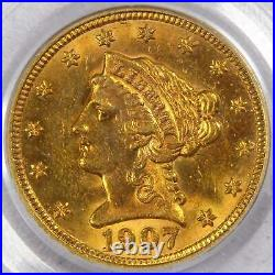 1907 Liberty Head Quarter Eagle MS 63 PCGS 90% Gold $2.50 US Coin Collectible