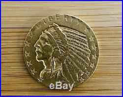 1912 5 Five Dollar #INDIAN Head 1912 Historic collectible, GOLD COIN