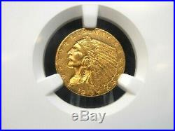 1913 $2.50 Gold Indian Quarter Eagle $2.5 NGC AU58 East Coast Coin & Collectable