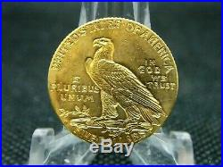 1914 D $5 Gold Indian Head Half Eagle #1 East Coast Coin & Collectables, Inc