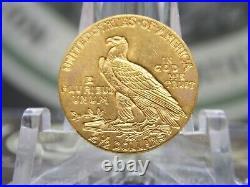 1915 $2.5 Gold Indian Quarter Eagle #1 East Coast Coin & Collectables, Inc