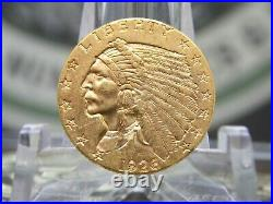 1926 $2.5 Gold Indian Quarter Eagle #1 East Coast Coin & Collectables, Inc