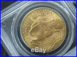 1927 $20 Saint Gaudens MS66 PCGS PQ Coin Rive d'Or Collection 751