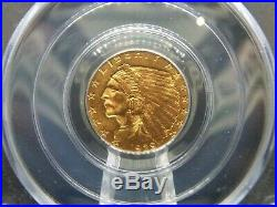 1929 $2.5 Gold Indian Quarter Eagle PCGS MS62 OGH East Coast Coin & Collectables