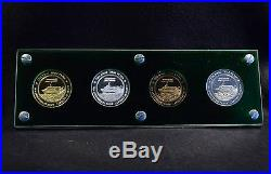 1977 Boeing Employee Coin Club Jetfoil Set Rare Only 20 Gold Struck 1.5 Oz Becc
