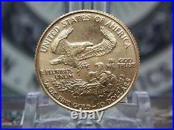 1986 $10 American Eagle 1/4oz Gold Bullion East Coast Coin & Collectables, Inc