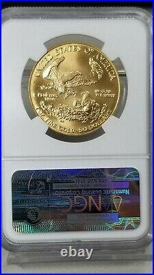 1987 $50 Gold American Eagle NGC MS 69 HOF TED WILLIAMS Coin Collection