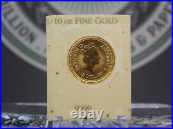1987 Perth Mint 1/10oz Gold LITTLE HERO Nugget East Coast Coin & Collectables