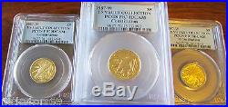 1987-W US Vault Collection Gold $5 Constitution Proof PCGS PF70 DCAM (1) Coin