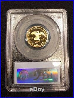 1989-W U. S. Vault Collection PCGS PR69DAM $5 Congress Gold Commemorative Coin
