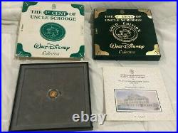 1995 Gold Coin Walt Disney Collection 1st Cent Uncle Scrooge Limited Ed