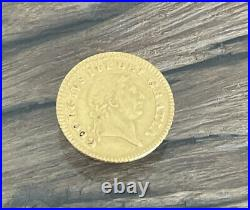 1/3 Guinea 1804 Gold coin 22kt, King George III, Rare/Highly Collectable