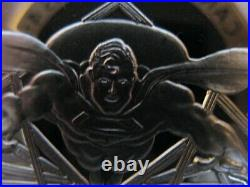 1-oz 999 Silver Cartoon Celebrities DC Comics Superman Man Of Steel Coin+gold