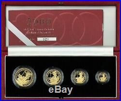 2000 Gold Proof Britannia Collection Four Coin Set & Low Coa