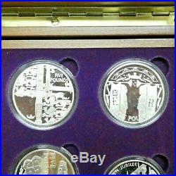 2002-03 Queen Elizabeth II Golden Jubilee Collection Silver Proof 24 Coin Set