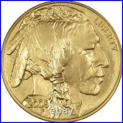 2006 American Buffalo MS 70 NGC 1 oz. 9999 Fine Gold $50 Coin Collectible