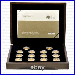 2008 £1 One Pound Coin 25th Anniversary Gold Proof Collection VERY LOW MINTAGE