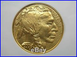2008 $50 Gold American Buffalo NGC MS70 ER Blue East Coast Coin & Collectables