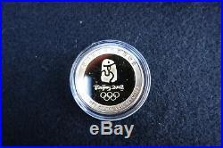 2008 Beijing Mascot Gold Coins, Summer Olympic Games Commemorative Medallion Set