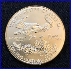 2008-W American Gold Eagle 1 oz $50 Coin add to your bullion collection