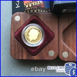 2009 $10 Ken Done Kangaroo 1/10oz Gold Proof Coin RARE