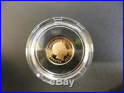 2011 Gold Proof Sovereign 3 coin set Collection with COA Ltd Edition 0279/1000