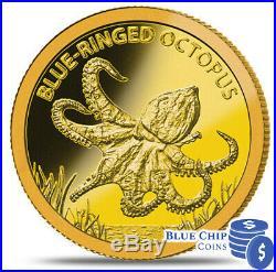 2012 $5 Tokelau Deadly & Dangerous 6 Coin Bu Gold Coin Collection Set