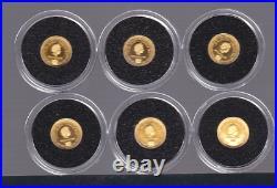 2012 Deadly & Dangerous Gold Coin Collection Tokelau