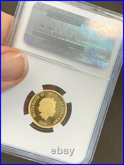 2014 DONALD DUCK 1oz. 25oz GOLD NGC PR70 ULCAMDISNEY 3-COIN SET Silver 1oz NIUE