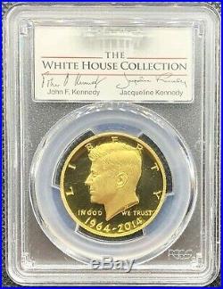 2014-W US Gold JFK Half Dollar Kennedy 50C PCGS PR69 DCAM White House Collection