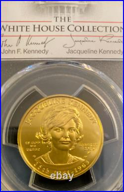 2015-W Jacqueline Kennedy GOLD $10 WHITE HOUSE Collection first spouse 1 Strike