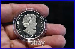 2016 Wonder Woman $10 Colorized Royal Canadian Silver Coin DC Comics 1/2 oz