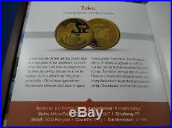 2017 African Pride Gold Coin Collection Complete Set