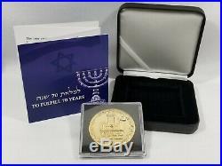 2018 King Cyrus Trump Jewish Temple Israel Gold PL Coin LIMITED FIRST MINT 1/700