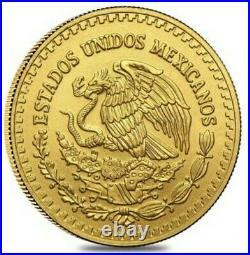 2020 1/20 Oz GOLD MEXICAN LIBERTAD BU Coin