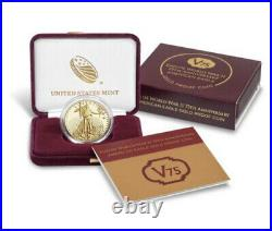 2020 American Eagle GOLD Proof V75 1oz End of World War II 75th Anniversary Coin