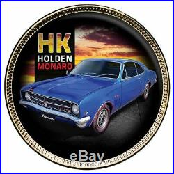2020 Holden Monaro Gold-plated Enamel Penny 9-Coin Collection PRESALE