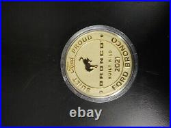 2021 Ford Bronco senior master coin
